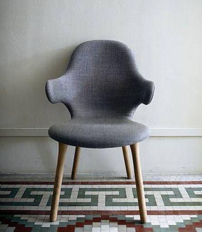 La silla Catch, diseñada para la firma danesa &Tradition.