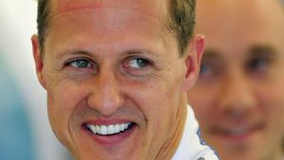 El piloto Michael Schumacher