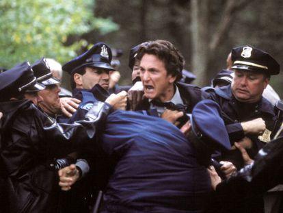 Sean Penn, en la versión cinematográfica de 'Mystic river'.