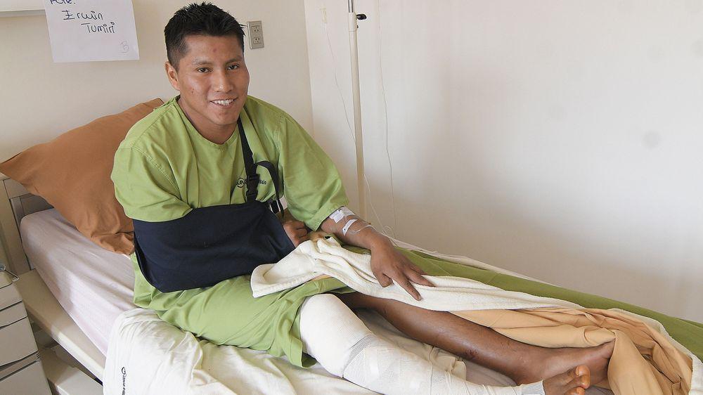 Doble 'milagro': un sobreviviente de la tragedia aérea del Chapecoense sale ileso de un accidente con 21 muertos