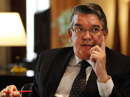El consejero de Hacienda, José Manuel Vela.