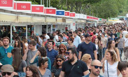 Ambiente Feria del libro de 2018.