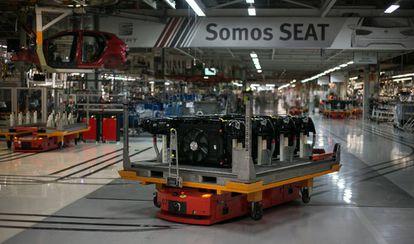 Instalaciones de la fábrica de Seat en Martorell (Barcelona), el pasado septiembre.