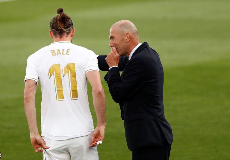 Bale y Zidane, hace tres meses contra el Eibar en Valdebebas.
