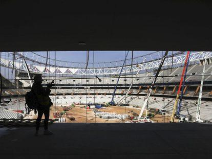 El nuevo estadio Wanda Metopolitano, estará listo en el verano de 2017, albergará los partidos del primer equipo y optará a acoger finales de competiciones nacionales y europeas.