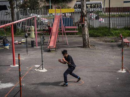 Una mirada al boxeo urbano en Ciudad de México
