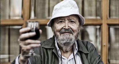 El director de cine Julio Diamante, el 31 de julio en Madrid.