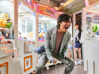 Jung-jae Lee, en el primer capítulo de 'El juego del calamar'.