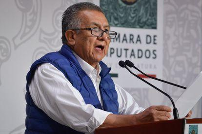El legislador Benjamín Saúl Huerta Corona, diputado de Morena, acusado de presunto abuso sexual.