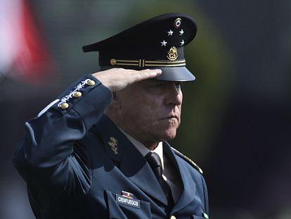 El secretario de la Defensa, Salvador Cienfuegos, en una imagen de 2016.