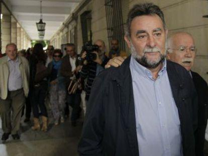 Fernández Sevilla, en 2014 en los juzgados de Sevilla.