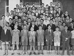 Una clase del colegio-internado Inmaculada de los jesuitas de Alicante en 1958