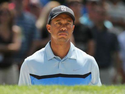 Tiger Woods, durante la primera ronda del PGA en Oak Hills.