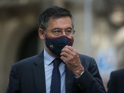El presidente del Barcelona, Josep Maria Bartomeu.