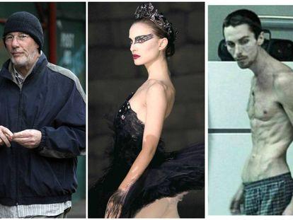Richard Gere, Natalie Portman y Christian Bale.