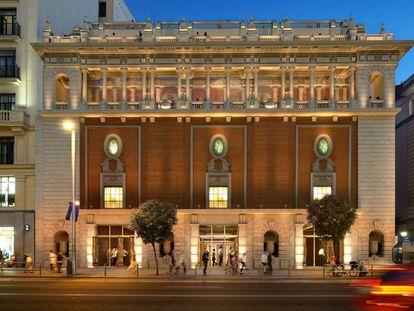 Proyecto aprobado para la rehabilitación del Palacio de la Música, en Gran Vía, 35.