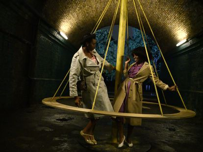 Shaniqua Okwok y Amarah-Jae St-Aubyn en 'Small Axe - Lovers Rock'.