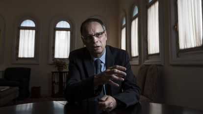 Jean Tirole, Premio Nobel de Economia en 2014, en la Fundacion Rafael del Pino.