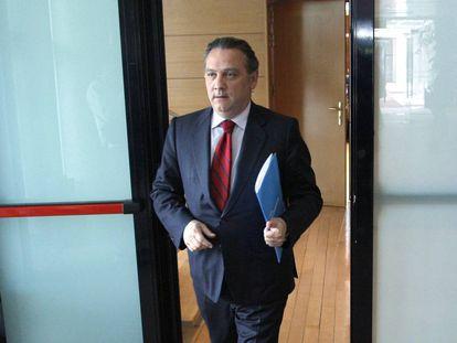 Alfredo Prada, exconsejero de Justicia y exvicepresidente autonómico, en la Asamblea de Madrid en 2009.