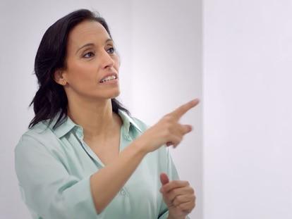 La deportista Teresa Perales durante una entrevista en 'Mucho por hacer'.