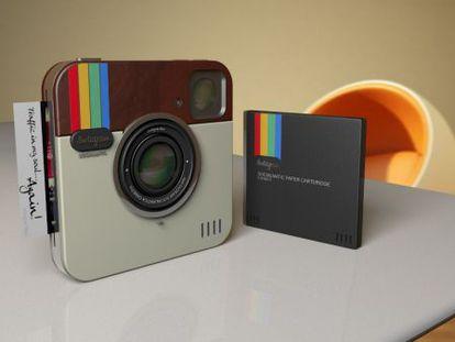Socialmatic imprimirá las fotografías digitales de estilo retro en papel