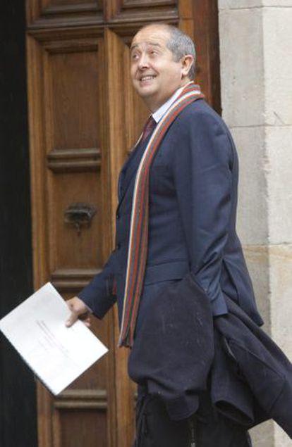 El consejero de Interior Felip Puig.