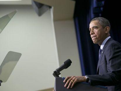 El presidente de EE UU, Barack Obama.