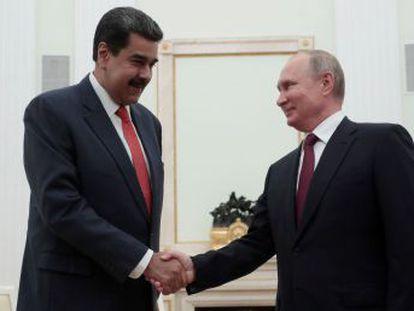 Rusia ofrece solo acuerdos menores al líder chavista en su primer viaje oficial desde que Guaidó se autoproclamó presidente interino de Venezuela