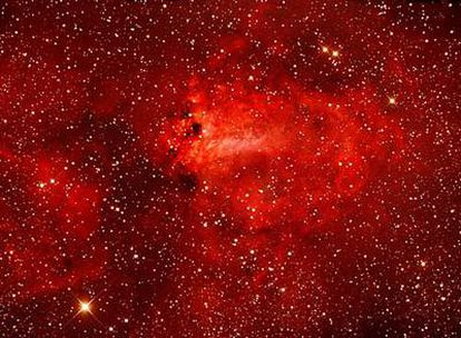 M17, la nebulosa Omega o de la Herradura.