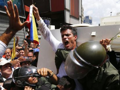 Leopoldo López abandona Venezuela con el objetivo de viajar a España