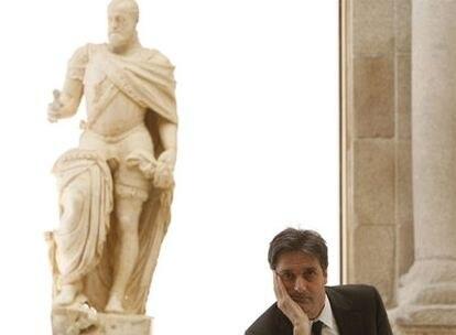 Nicholas Penny, durante su reciente visita al museo del Prado, en Madrid.