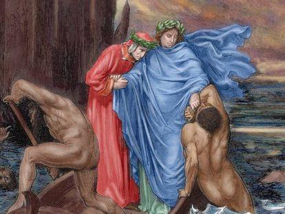 Grabado de Gustave Doré sobre la 'Divina Comedia'.