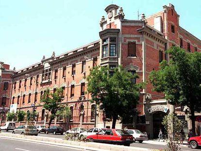 Fachada del hospital Santa Cristina, en la calle de O?Donnell.