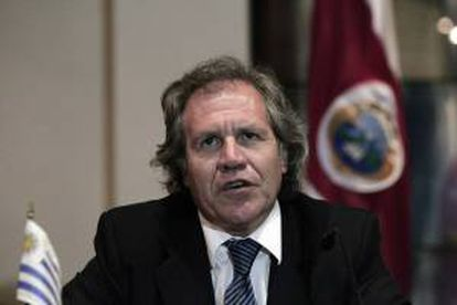El ministro uruguayo de Relaciones Exteriores, Luis Almagro. EFE/Archivo