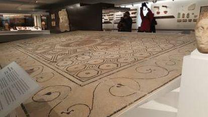 Mosaico romano del Nacimiento de Venus, de finales del siglo II