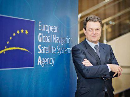 Carlo des Dorides, director de la agencia europea que gestiona el sistema de posicionamiento Galileo