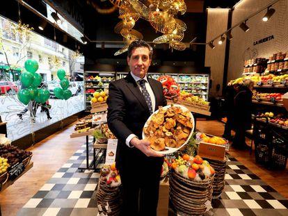 Pascual Campos, director comercial de la cadena de supermercados Sánchez Romero.