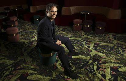 El actor y director Gael García Bernal, el pasado martes, en Cannes.