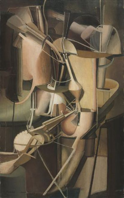 'Bride' (1912) de Marcel Duchamp.