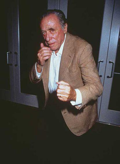Henry Charles Bukowski en 1987.
