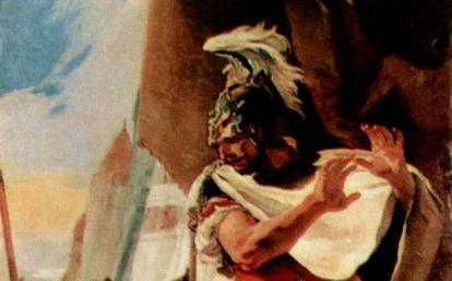 'Aníbal ante la cabeza de Asdrúbal', de Giovanni Battista Tiepolo.