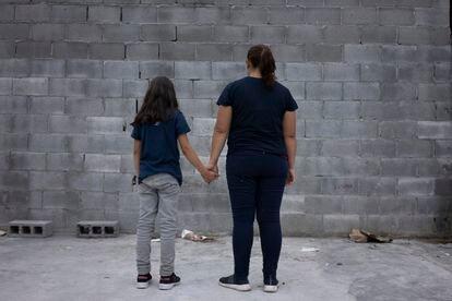 Idalia Rivera y su hija Sofía Alexandra.