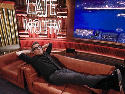 Andreu Buenafuente, en el plató en el que se graba 'Late Motiv'.