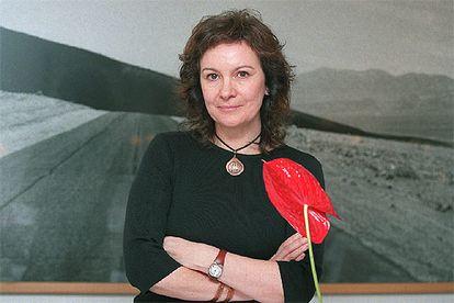La escritora Clara Sánchez.