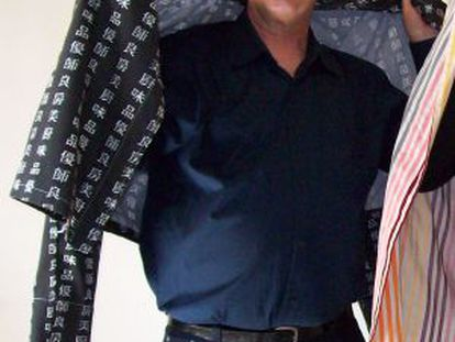El dramaturgo, actor y letrista de origen argentino Carlos Borsani.