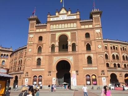 Fachada principal de la plaza de Las Ventas.