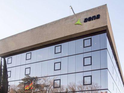 Sede central de Aena en Madrid.