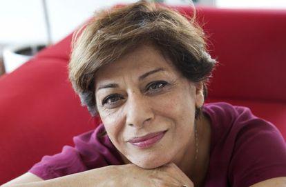 La socióloga y psicóloga iraní Parinoush Saniee.
