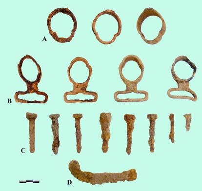 French rifle hardware, in the battle of Marialba (Salamanca).
