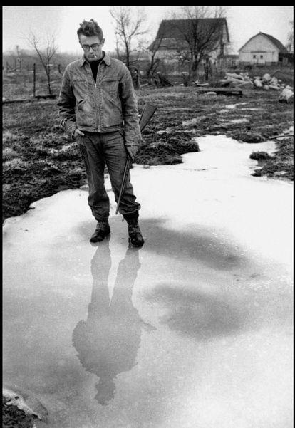 Fotgrafía de James Dean de Dennis Stock.